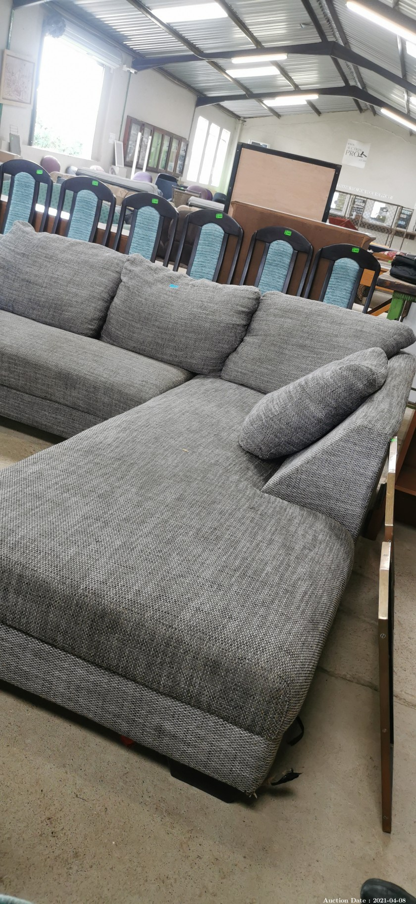 311 2 Piece L shape Couch