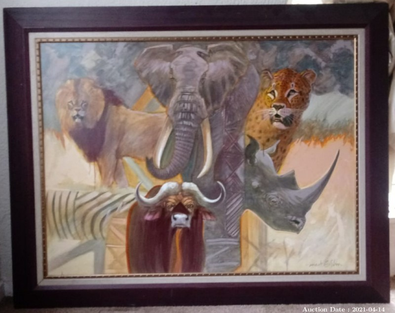 13 Big 5 Composite by Mark Enslin -Investment Art !!