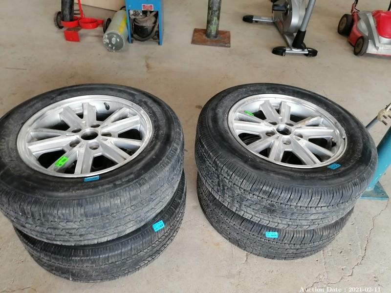 102  Rims & Tyres