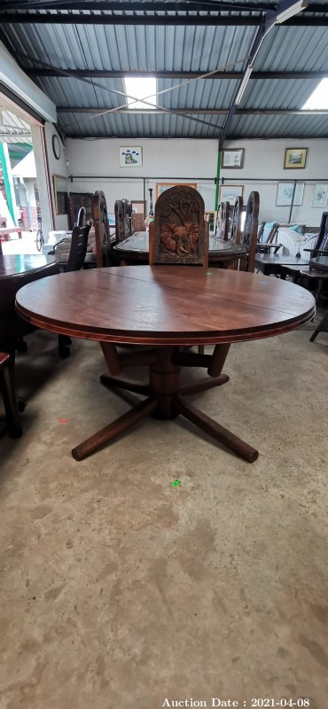 305 Extendable Round Table