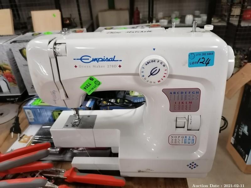 124 Sewing Machine