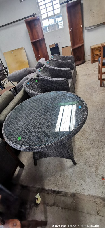 304 Rattan Patio set