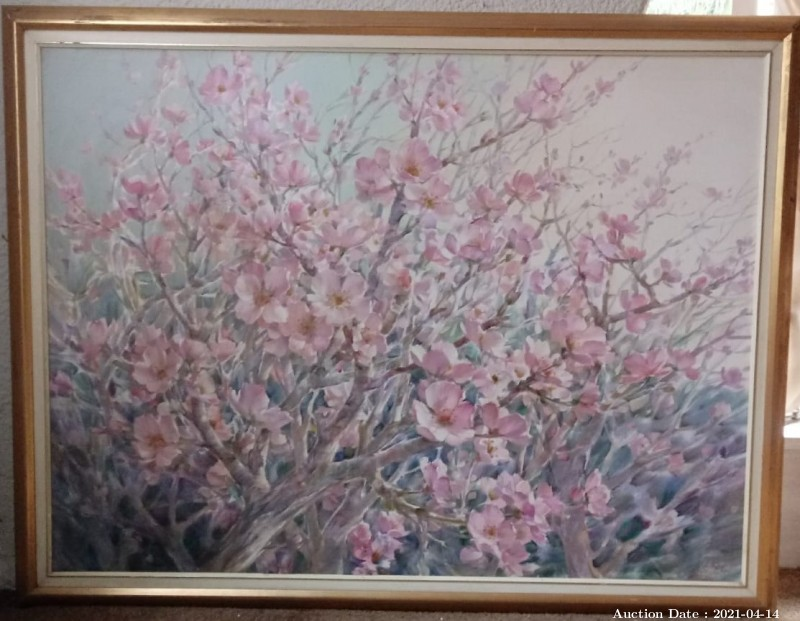 03 Pink Blossoms by Mike Iggins