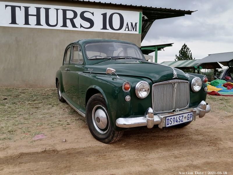 384 1958 ROVER 90 P4.
