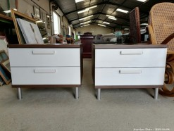 Description 323 Pair of Modern Pedestals
