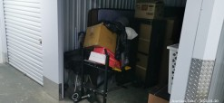 Description Gym Equipment Unit.  This 6m2 unit contains a braai, gym equipment, ironing board, mattress, bed, carpet boxes and laundry basket. Online Only. Midway Mews - JHB. Please Note: A R300 Returnable Cleaning & Lock Deposit on each unit. Auction closes 12 pm.