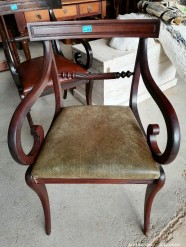 Description 326 Vintage style occasional chair