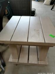Description 109 Side Table