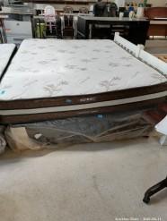 Description 323 Restonic Double Bed