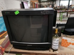 Description Sony 52cm Trinitron colour TV.  This bid will be used as your proxy bid on our live auction - Online bidders will be notified by 6 Pm by Auction day. AP Score 10/10. This is a live and online auction.