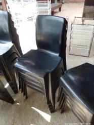 Description 518 Plastic Stack Chairs