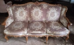 Description 22 Five piece Queen Anne Lounge Suite