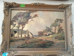 Description 343 Johan Oldert Framed Oil