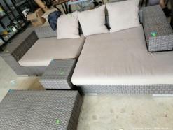 Description 103 Patio Couch Set