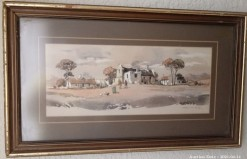 Description 20 Cape Cottage Watercolour by Johnnie de Kock