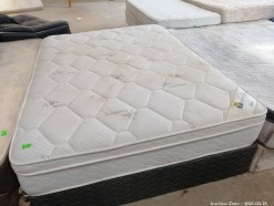 Description 311 Restful Bamboo mattress and bed base - Double
