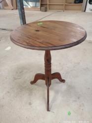 Description 308 Solid Pine Side Table