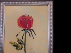 Description Lot 411 -  Red Rose by Munro