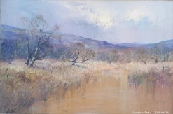 Description 19 Tranquil River Scene by C Tugwell - Great Investment Piece!