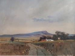Description Lot 500 - \'Karoo Landscape\' - Oil on Board by Eugene Hurter