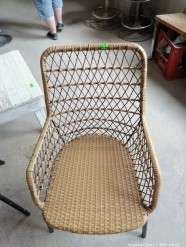 Description 528 Rattan Chairs