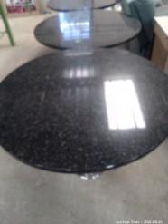 Description 511 Granite Round Tables