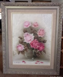 Description 07 Pink Rose Bouquet by Jeanette Dykman